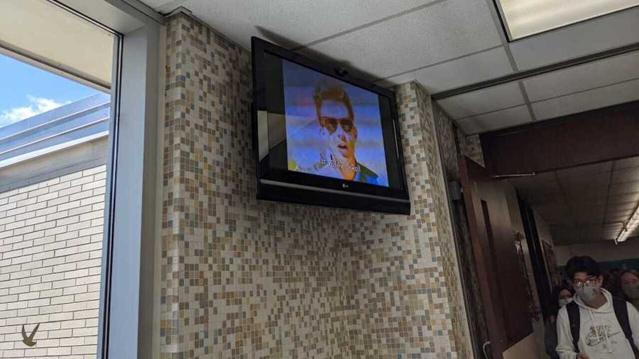 How I hacked ALL displays in my high school district to play Rick Astley