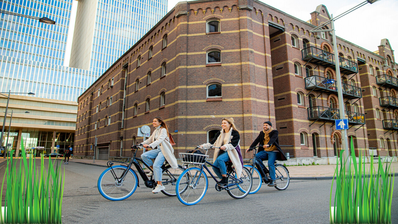 Swapfiets disrupts bike hiring and asserts their green cred