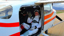 For this man's 80th birthday, he jumped out of a plane 80 times in only 7 hours Featured Image