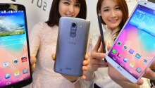 LG announces the L Series III, mid-range smartphones with Android KitKat and smart covers