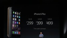 Apple unveils the iPhone 6 and iPhone 6 Plus