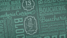 20 of the best typefaces released in November 2014 Featured Image