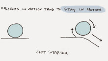 The physics of productivity: Newton's laws for getting stuff done Featured Image
