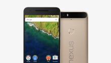 Google finally released a gold Nexus 6P