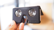 This Google Cardboard VR headset is the size of an iPhone 5