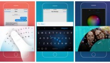 Microsoft's new iOS keyboard could help you stop dropping your phone Featured Image