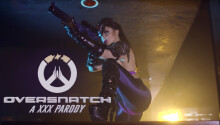 Brazzers has graced us with a new porn parody to 'Overwatch'