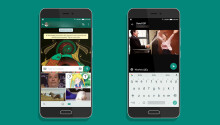 WhatsApp for Android now lets you search and send Giphy GIFs