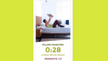 This app wants you to wake up by turning your bed into a gym Featured Image