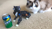 So, here's a robotic cat you can 3D print