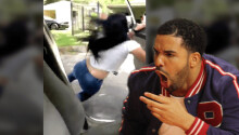 Fans pay homage to Drake by hurling themselves from moving cars