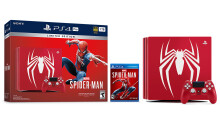 Sony announces limited edition 'Amazing Red' PS4 Pro bundle
