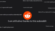 Reddit partners with an SMS hotline to help users expressing suicidal thoughts