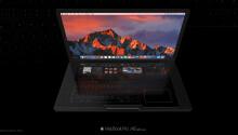 Concept art offers a glimpse at a futuristic new MacBook Pro