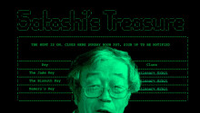 Satoshi's Treasure hacker claims first keys to $1M Bitcoin prize in minutes