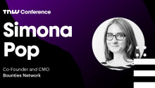 Bounties Network's Simona Pop is live at TNW2019 – tune in now!