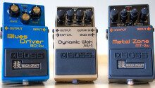 These BOSS pedals make you sound like a guitar god