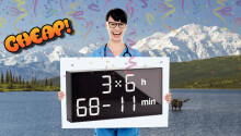 CHEAP: Train your brain with $180 off this magnificent math clock