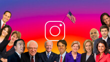 10 things we learned from the Democratic candidates' Instagrams