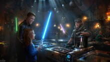 You can build your own Lightsaber and Droid at Disney's new Star Wars attractions