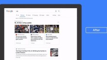 Google declutters its news tab on desktop search pages with a fresh look