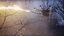 Turn your drone into a flying flamethrower with this $1,500 attachment