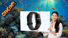 CHEAP: You suck. Buy a FitBit Charge 3 for $120.