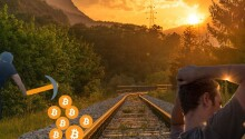 Railway workers caught mining Bitcoin with state electricity in Ukraine