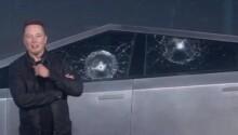 Here's why the Cybertruck's windows broke, according to Elon Musk