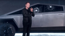 Watch the Tesla Cybertruck's unbreakable glass, uh, break