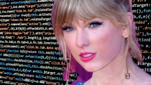 This cryptocurrency mining botnet uses Taylor Swift pics to propagate itself