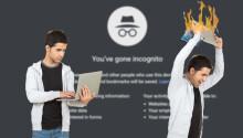 Don't trust Google Chrome's incognito mode