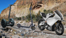 Segway teases electric motorbike and it screams like a banshee
