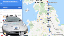 A tricked-out Nissan Leaf just completed Britain's longest fully autonomous drive