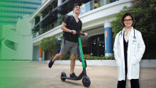 Grab makes e-scooter and cab rides free for frontline coronavirus workers in the Philippines