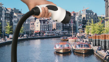 Almost all Amsterdam's commercial boats are now electric