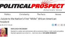 New US Press Secretary Kayleigh McEnany ran a racist, right-wing conspiracy blog