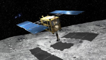 A Japanese spacecraft sent back images of the rocky asteroid 'Ryugu' — and they're stunning