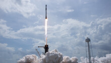 SpaceX successfully launches astronauts into space for the first time
