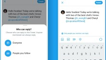 How to use Twitter's new tool to limit replies to your tweets