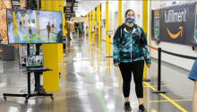 Amazon is using an AI camera system to monitor social distancing in its warehouses