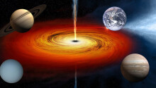 Scientists: What if black holes had a safe zone where little planets could live? Let's call them 'blanets'