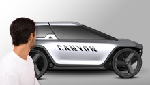 Canyon's electric car-bike hybrid concept might just be crazy enough to work