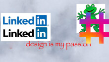 The LinkedIn 'add hashtag' button is the epitome of befuddling design