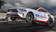 Ford claims its electric Mustang nailed a quarter-mile in 8.27 seconds