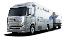 Hyundai's first fuel cell-powered trucks arrive in Switzerland — bye bye, diesel