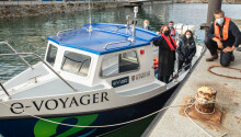 The UK's first electric ferry runs on old Nissan Leaf batteries