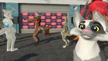A VR furry hootenanny is all I wish to remember about the 2020 US election