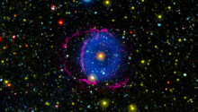 Spooky space: Blue ring nebula reveals the secrets of binary stars