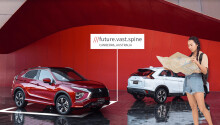 Mitsubishi Eclipse first to get offline What3words maps for off-grid navigation